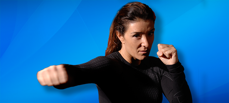 Kickboking Woman Fitness Growing in Fitness for Self Defense