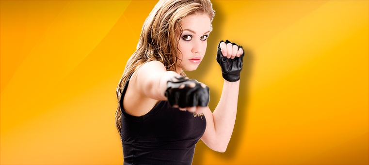 MMA Woman Get in Shape: Train Hard and Be Safe