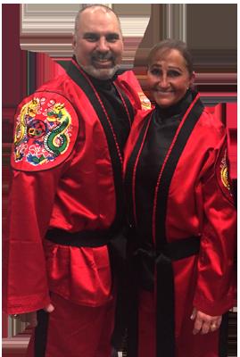 Chief Master Laura Kowkabany and Sr. Master David Kowkabany