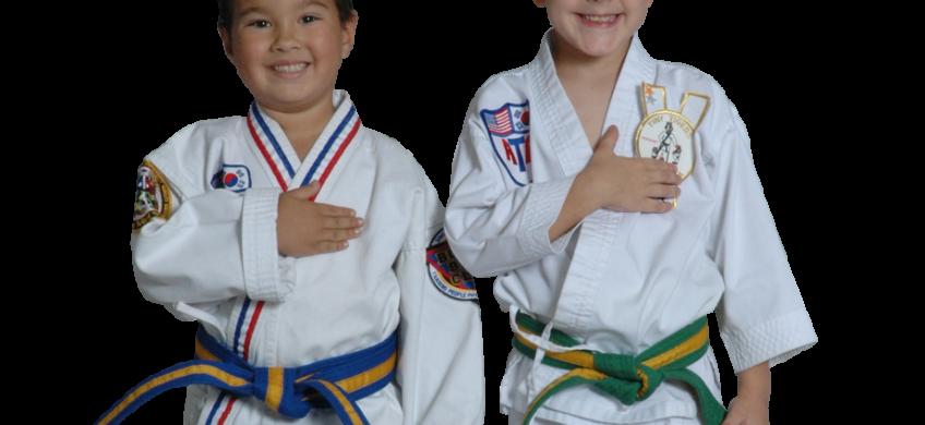 martial arts buddies