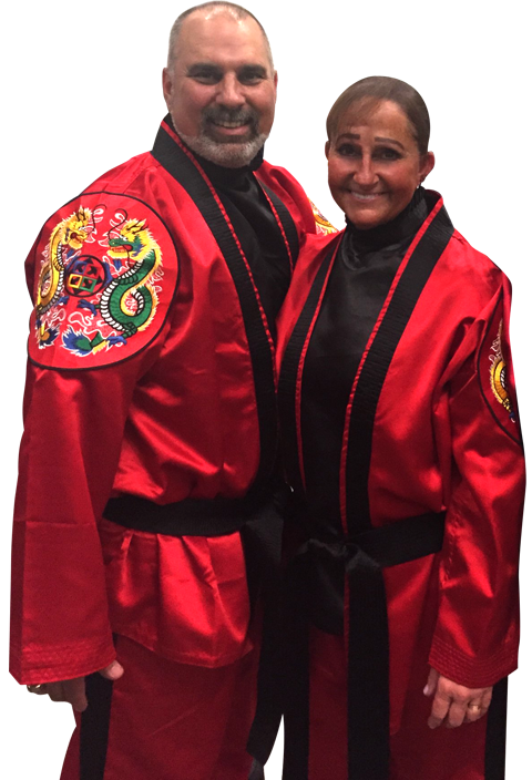 Chief Master Laura Kowkabany and Sr. Master David Kowkabany